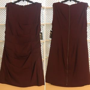 Express Wine Colored Formal Dress Size 12 NWT